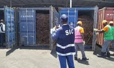Polícia apreende 11 mil toneladas de cabos de cobre