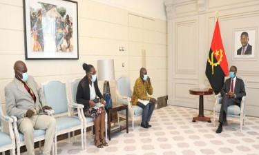 Vice-Presidente recebe jovens da arte e cultura