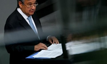 Guterres pede ano de acção contra alterações climáticas