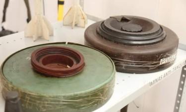 Removidas mais de 600 minas