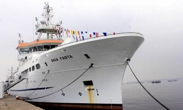 Navio oceanográfico angolano pode navegar nos próximos dias