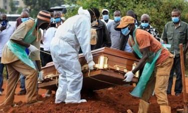 África regista 1.742 mortes em 24 horas