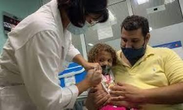 Cuba começou a vacinar crianças a partir dos dois anos
