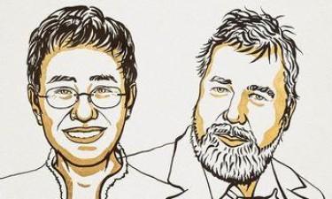 Nobel da Paz para jornalistas