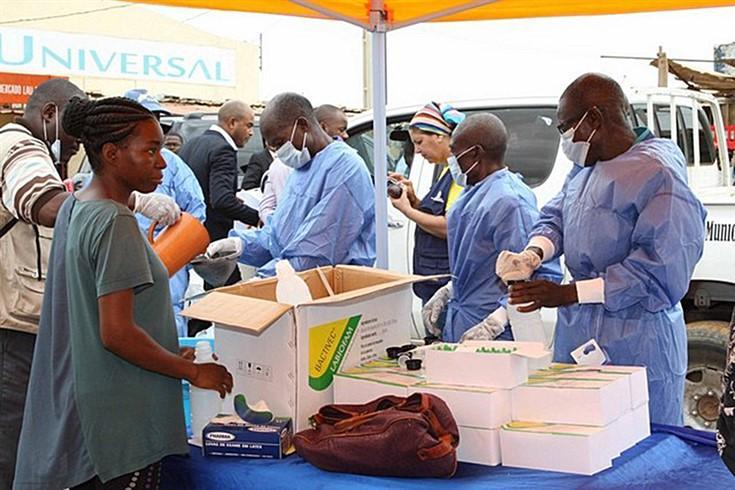 Angola regista 1.370 casos de cólera