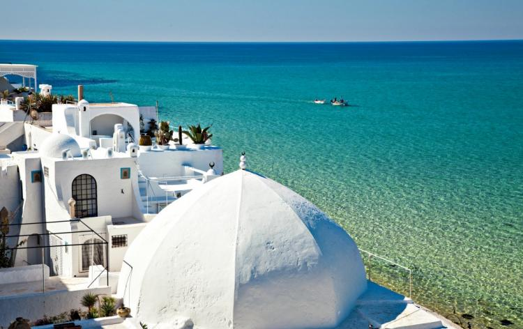 As águas cálidas do Mediterrâneo