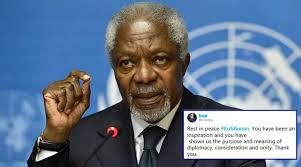 Kofi Annan, um africano na luta pela paz
