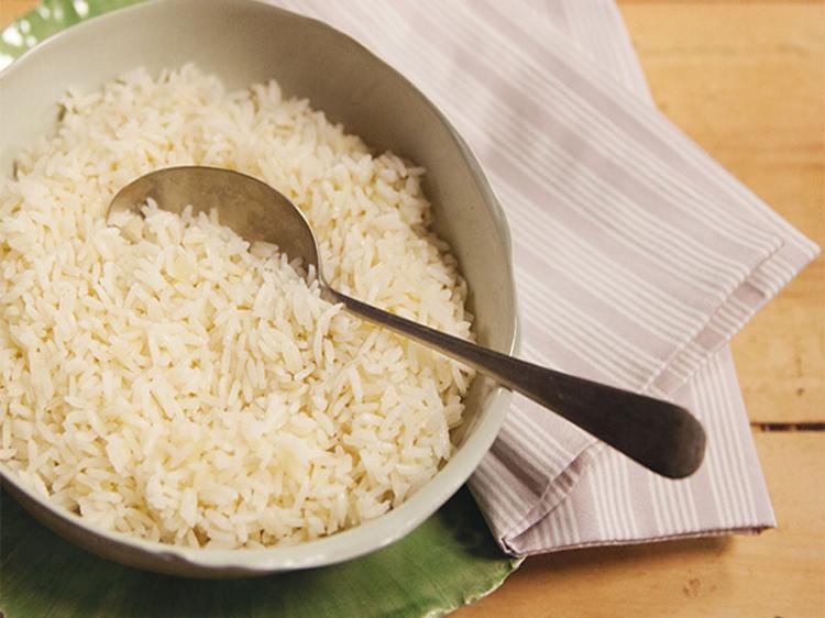 No tempo do arroz com chá