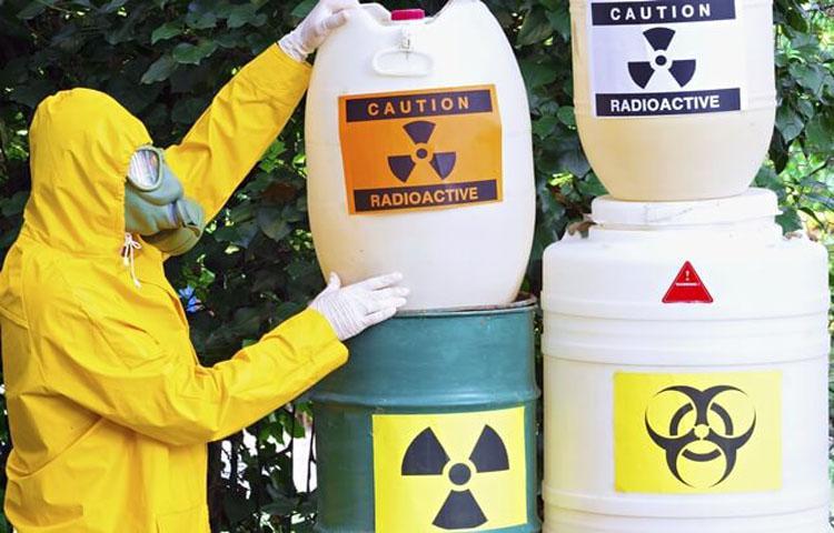Material radioactivo ao 'deus-dará'