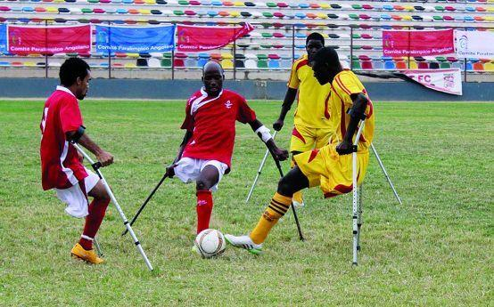 Angola participa no campeonato do mundo de futebol para amputados