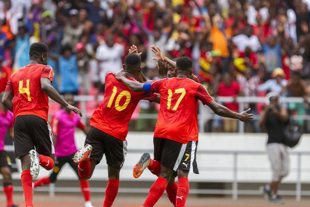 Angola procura liderança diante da Mauritânia