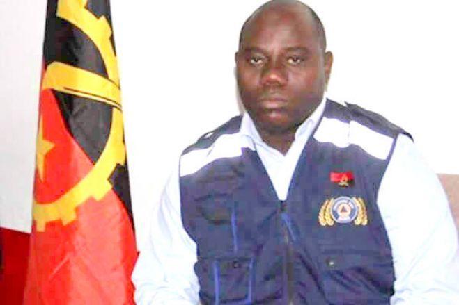 Comandante dos Bombeiros do Namibe detido