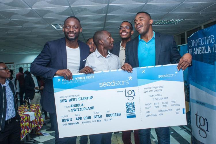 Empresa Kubinga participa na competição 'startups'