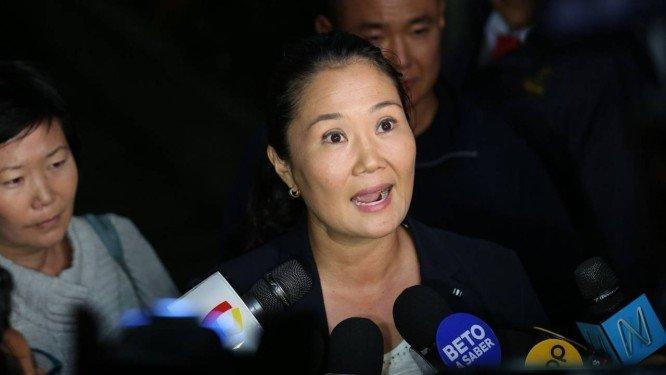 Keiko Fujimori presa por suposta lavagem de dinheiro