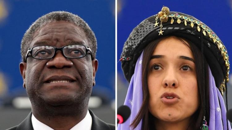 Médico congolês e activista iraquiana partilham prémio Nobel da Paz 2018
