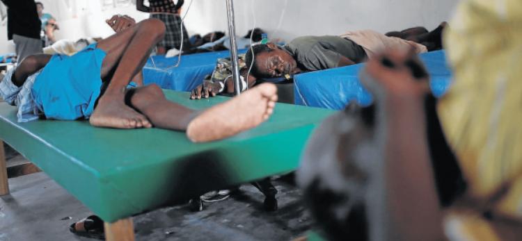 Uíge com nove casos suspeitos de cólera