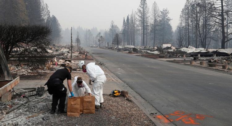 Incêndio causa 79 mortos e 700 desaparecidos