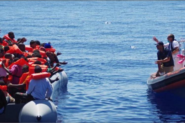 Mais de 500 migrantes resgatados no mar de Alborão