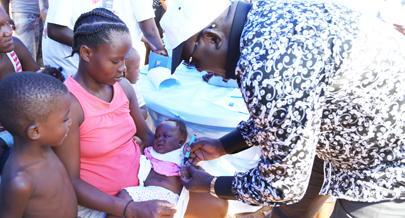 Mais de mil crianças vacinadas contra sarampo