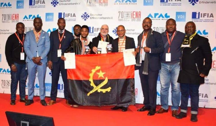 Inventores angolanos conquistam medalhas
