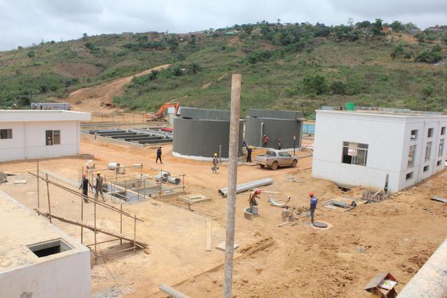 Projecto de reforço de água concluído em 2019