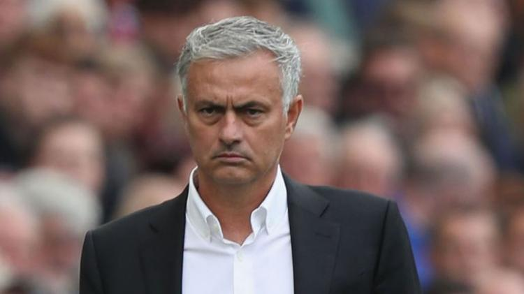 José Mourinho fora do Manchester United