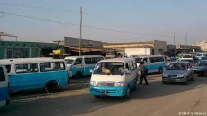 Taxistas marcham em Luanda