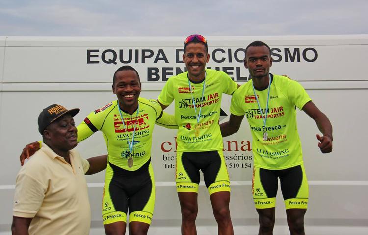 Filho de 'Pepino' sabe pedalar