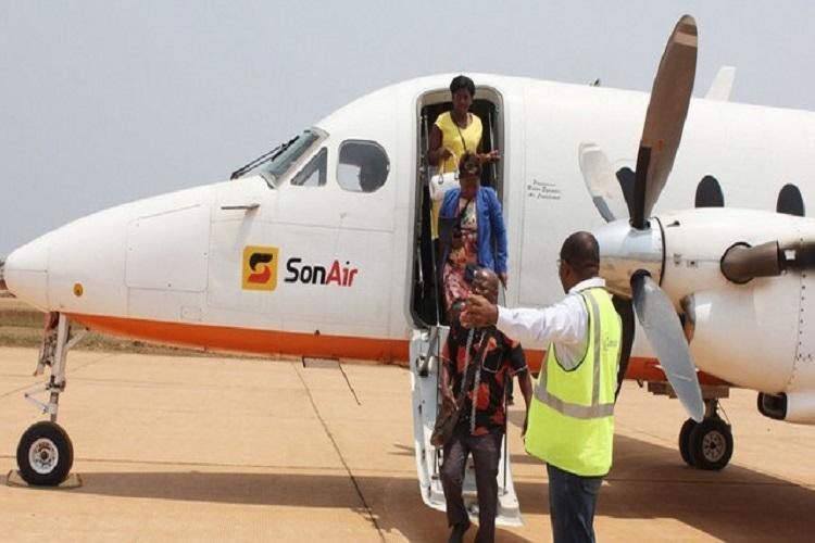 Sonair suspende voos a Malanje por falta de passageiros