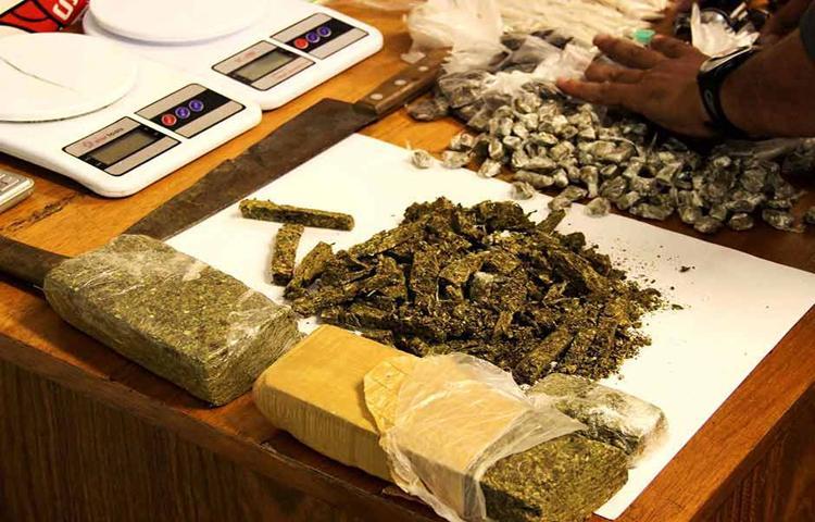 Consumo e tráfico de droga  aumentam em África