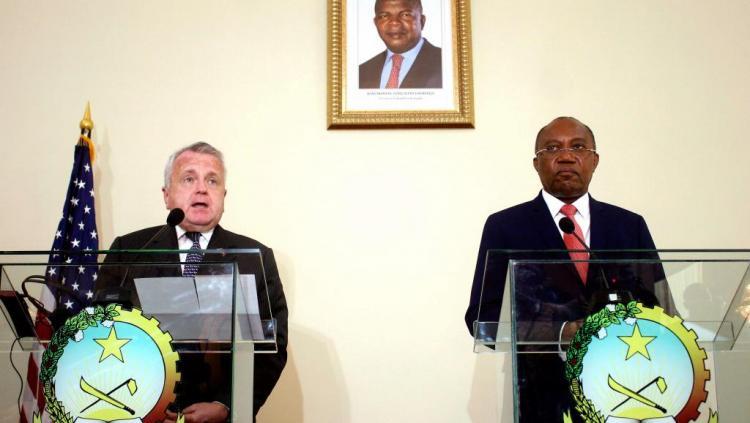 Angola e Estados Unidos assinam acordo