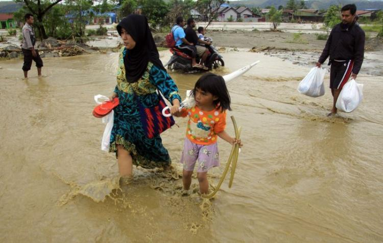Inundações causam 89 mortos e 74 desaparecidos