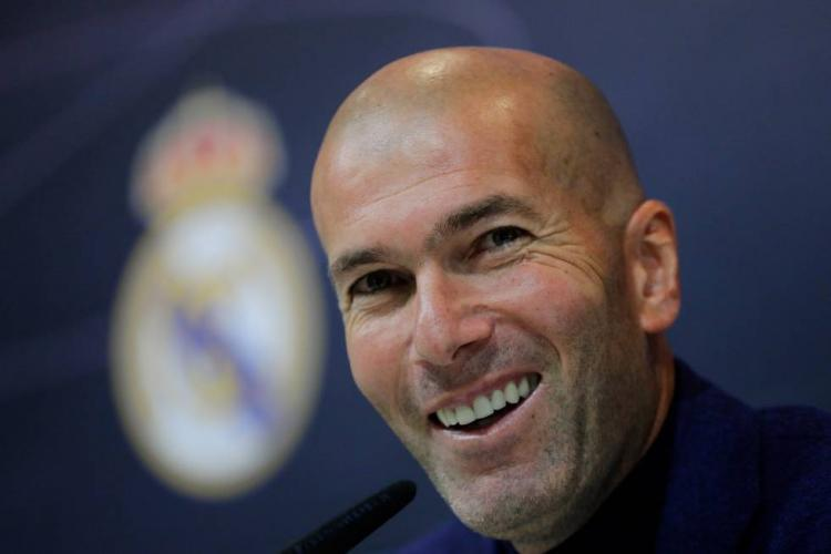 Zidane volta ao Real Madrid