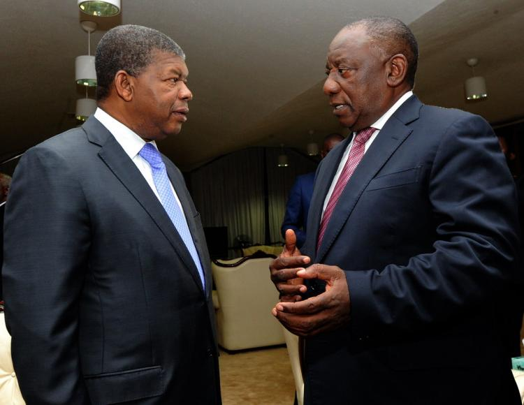 PR na investidura de Cyril Ramaphosa