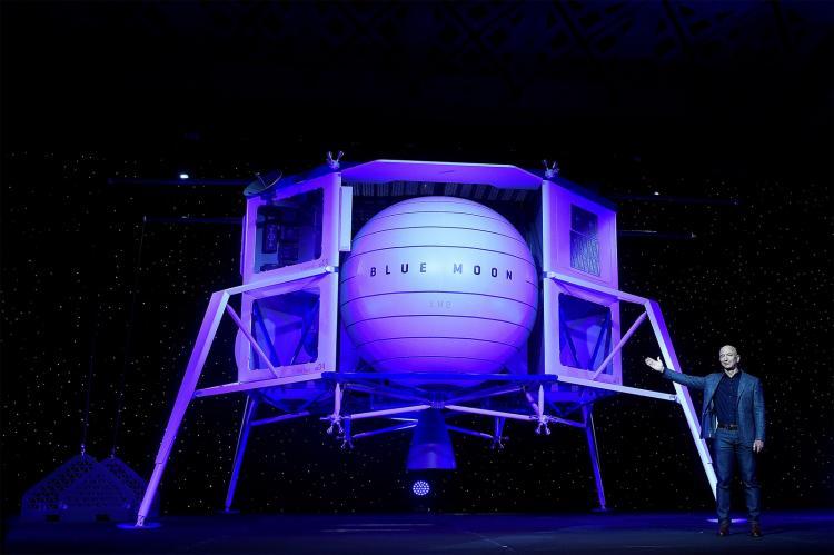 Jeff Bezos vai enviar nave espacial para a Lua em 2024