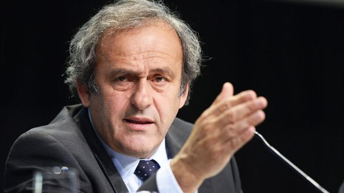 Michel Platini detido