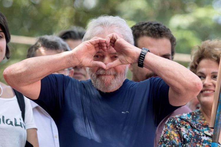 Tribunal recusa libertação de Lula daSilva