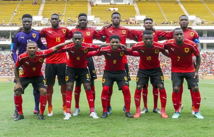 Angola começa a competir com a Tunísia