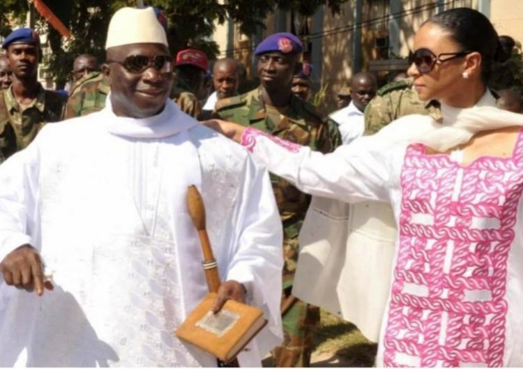 Ex-presidente da Gâmbia acusado de violação