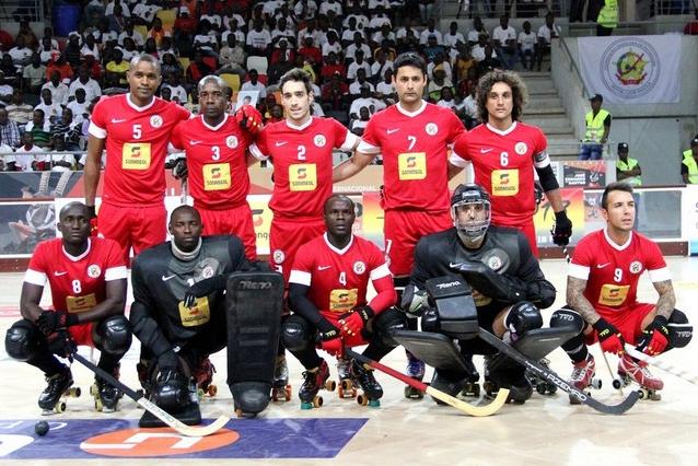 Angola baixa para a sexta posição