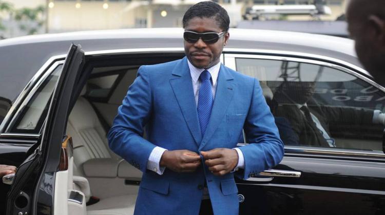 Carros de luxo do vice-presidente da Guiné Equatorial vão a leilão