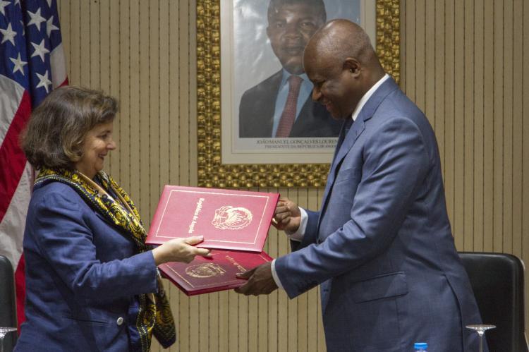 EUA apoia Angola no combate à criminalidade