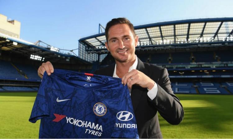 Frank Lampard é o novo treinador do Chelsea