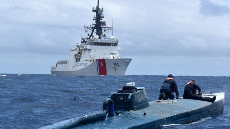 Interceptado submarino com mais de sete toneladas de cocaína