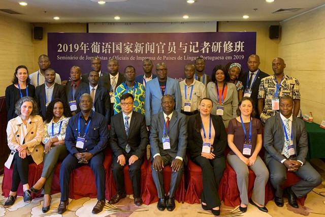 Jornalistas angolanos participam em seminário na China