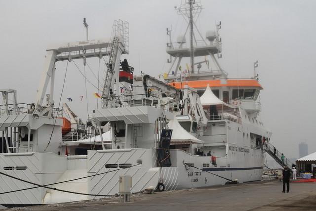 Navio 'Baía Farta' já está em Angola