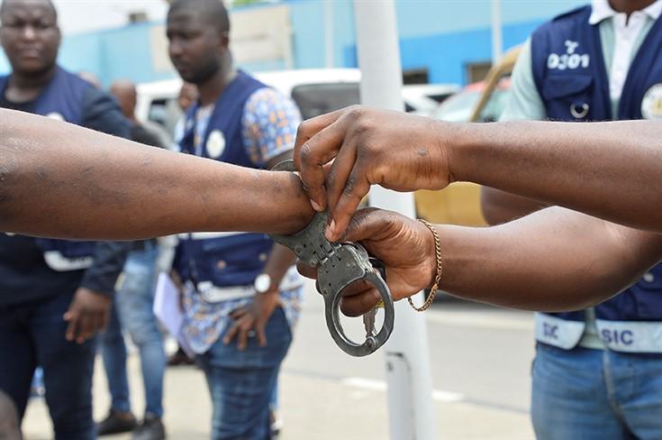 Polícia detém sete cidadãos por promoverem desordem