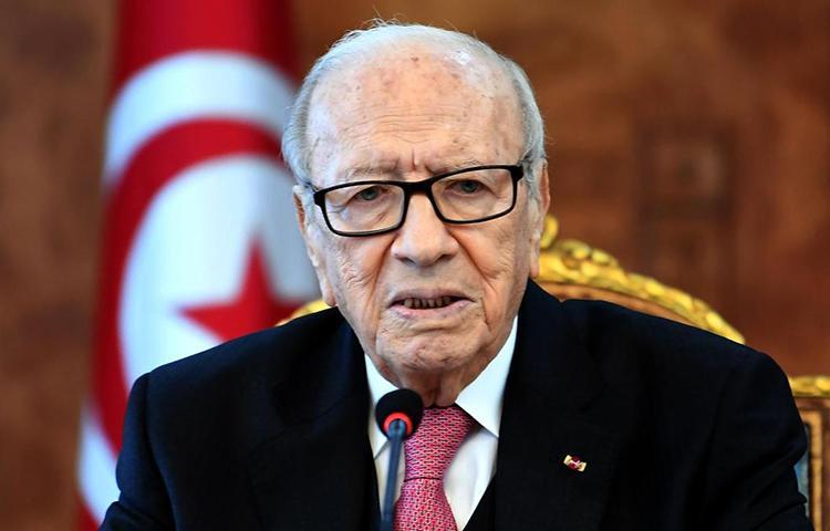 Presidente da Tunísia morre aos 92 anos