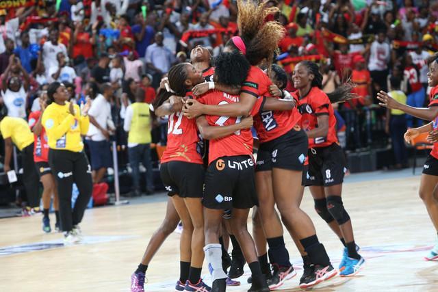 Angola conquista ouro em feminino
