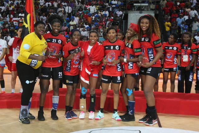 Angola na final em andebol feminino